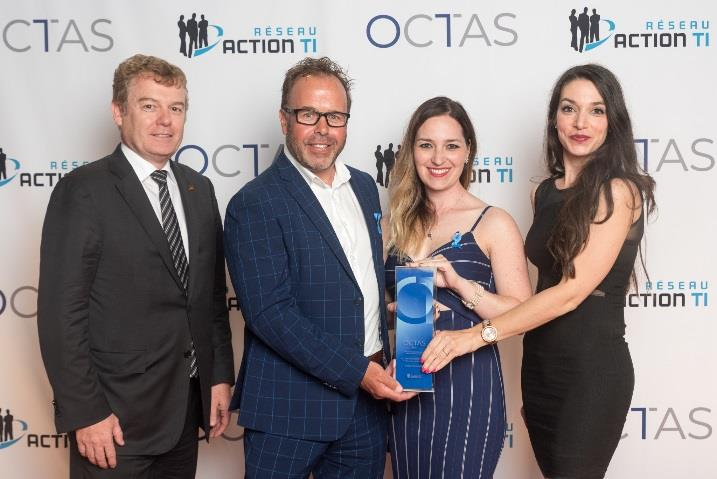 La Ville de L'Ancienne-Lorette lauréate d'un OCTAS!